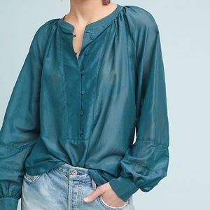 Anthropologie Cortona Tunic Blouse
